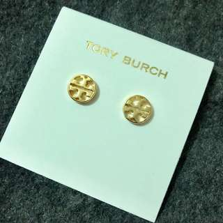 Tory Burch Earrings circle gold 圓形金色耳環