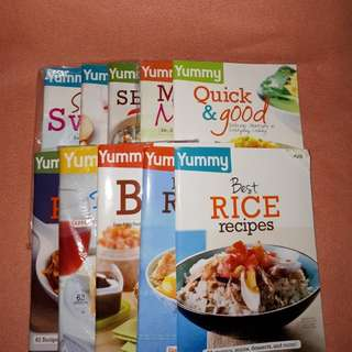 YUMMY Recipe Books