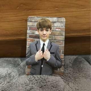 EXO Chen Growl Album Card 金鐘大咆哮專輯小卡