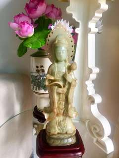 Antique Jade Guan Yin