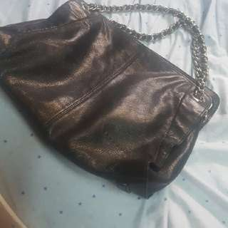Sisley Chain Leather Bag
