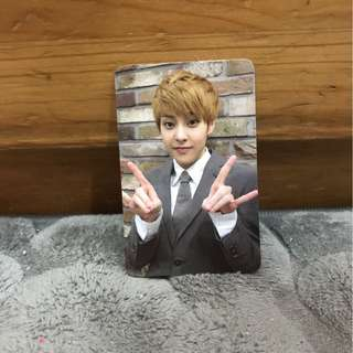 EXO XiuMin Growl Album Card 金秀珉咆哮專輯小卡