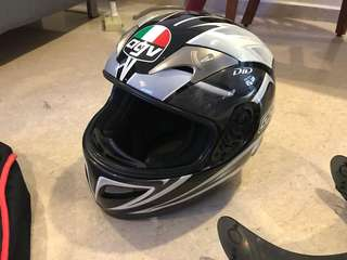 AGV Helmet Size XL - Clean and like new