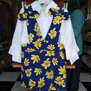Baju Kodok Anak Bunga