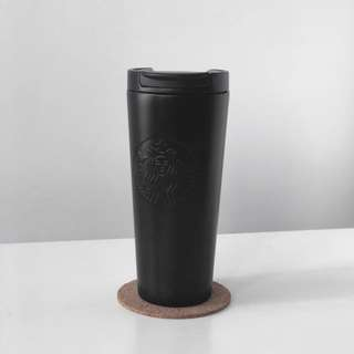 starbucks matte black flask