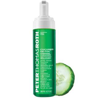 PETER THOMAS ROTH Cucumber De-tox Foaming Cleanser RRP$50
