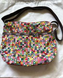 LeSportsac Sling Bag L30cm B24cm W11cm