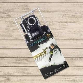 Supremo 4k Dual Action Camera