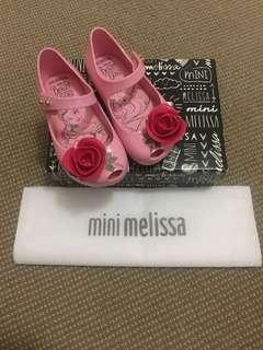 Mini Melissa Beauty & Beast size 7