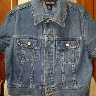 Short Sleeved Maong Jacket