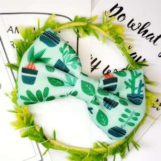Garden Plant Handmade , Dog Cat Bowties Bow tie , Clothing , Accessories , Pet Collars , Bandana