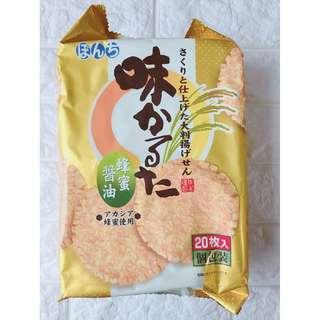 «Kimi Shop» 日本➜預購 日本製蜂蜜醬油味付巨無霸仙貝