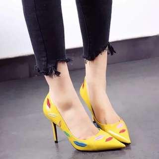 TheGlamKick lipstick heels size 34-39 10cm high