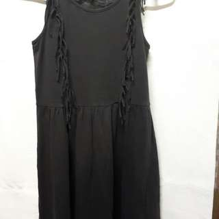 Pre loved black dress for young girls