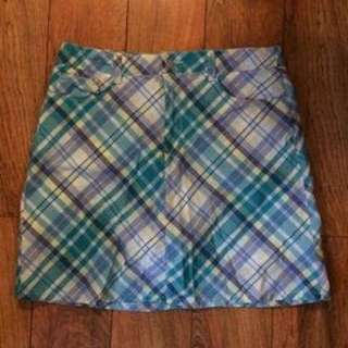 REPRICED Plaid Skirt