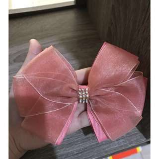 Big bow hairclip