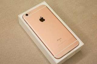 Iphone6s plus 128gb玫瑰金