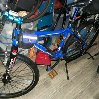 Raleigh M15 with upgraded parts