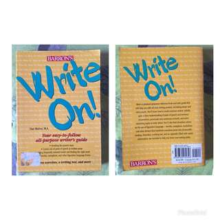 Write On - Tips About Writing