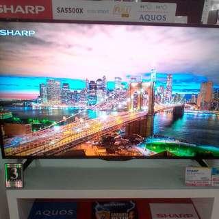 Cicilan TV LED SHARP tanpa kartu kredit proses cepat 3 menit lg promo 0% 6x cicil