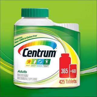 Centrum Adults Multivitamins 425 tablets