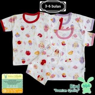 Baju bayi 3-6bulan