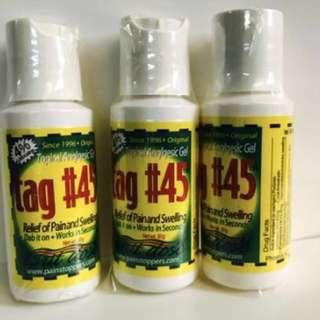 Authentic tag #45 cream tag#45 numb cream ,semi permanent