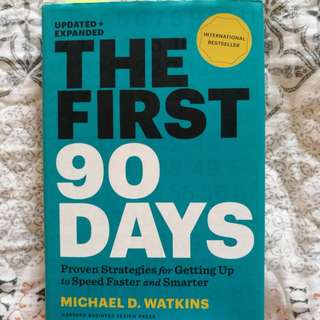 The First 90 Days by Michael Watkins