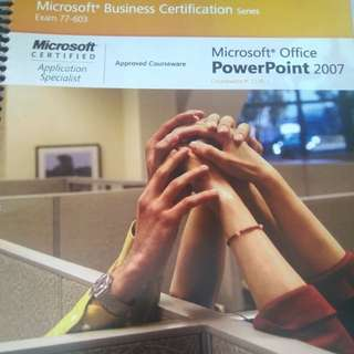Microsoft Business Certification: Microsoft PowerPoint