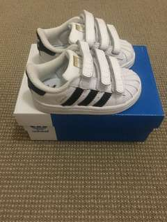 Adidas Superstar Toddler Shoes size US 5K