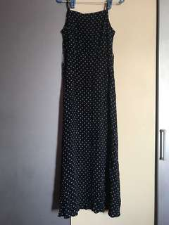 Weekend polka dot maxi dress