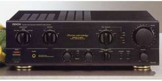 Denon integrated amplifier