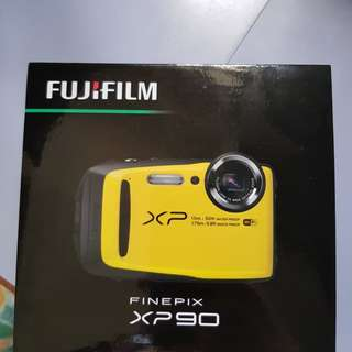 Fujifilm FinePix XP90 Digital Camera-Yellow