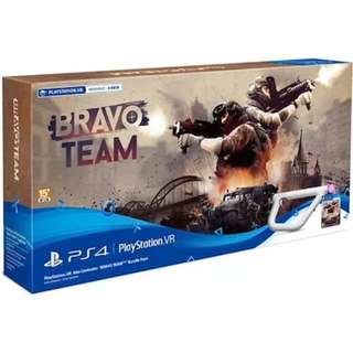 PS4 VR Gun & Bravo Team Special Bundle