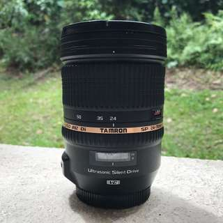 Tamron 24-70mm f2.8 VC Lens for Canon EF Mount