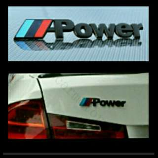 M-power Emblem for BMW