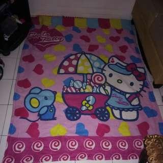Karpet hello kitty tebal jumbo
