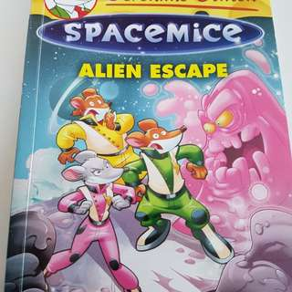 Geronimo Stilton Spacemice Alien Escape