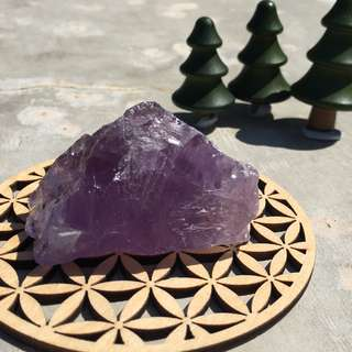 紫晶原石  約6cm x 3.5cm