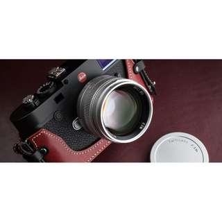 7artisans (DJ-Optical) 50mm f/1.1 Chrome M Mount Standard Prime Lens (Brand New)
