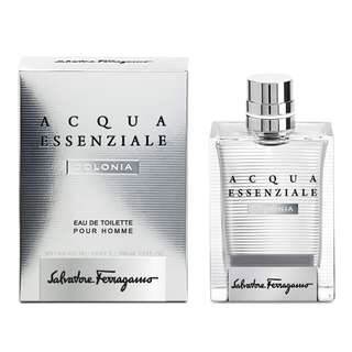 Salvatore Ferragamo Acqua Essenziale Colonia EDT for Men (100ml Tester) Aqua Silver