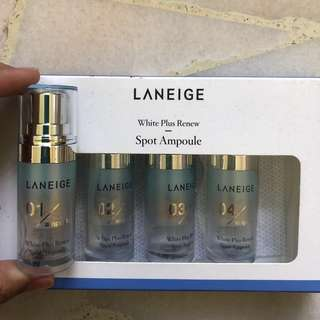 BNIB Laneige White Plus Renew Spot Ampoules (4 week program)