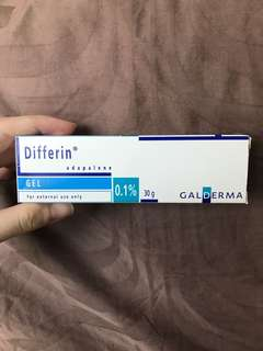 Differin Gel for Acne