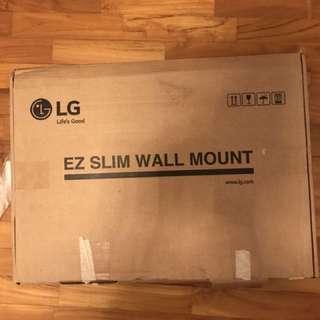 LG retractable slim wall mount