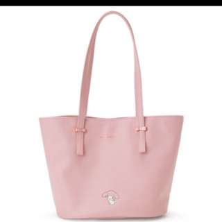 Authentic My Melody pink tote bag