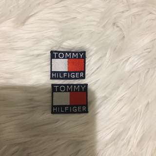 Tommy Hilfiger patches