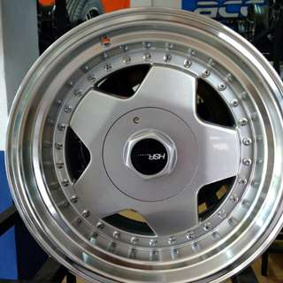 Velg borbet ring
