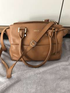 Kikki K | Tan Leather Shoulder Bag