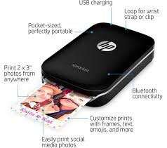 HP sprocket portable printer