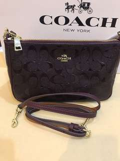 Coach Large Wristlet large clutch handbag